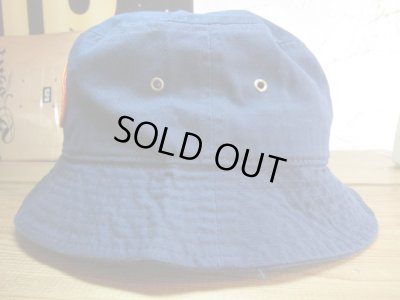画像2: POINTER/WASHED BUCKET HAT WAPPEN  NAVY