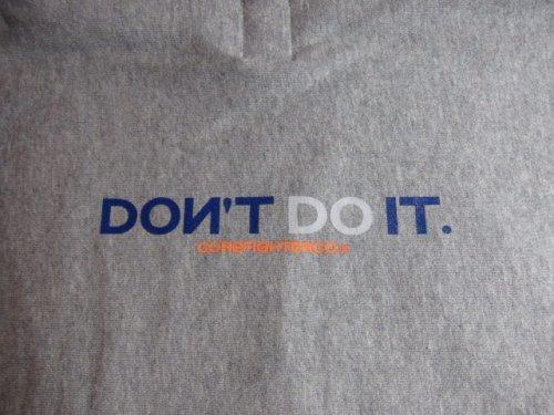 他の写真3: COREFIGHTER/DONT'S DO IT HOODY  H.GREY