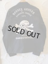 GANGSTERVILLExBOUNTY HUNTER/127% BxG JACKET  BLACK