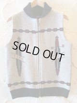 SOFTMACHINE/SWORDS VEST  BEIGE