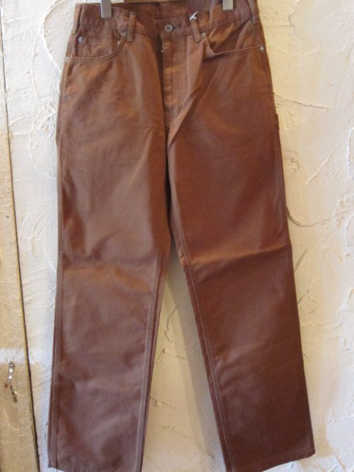 他の写真2: (SALE 30%OFF) RATS/PAINTER PANTS  BROWN