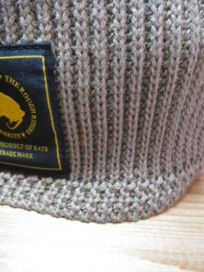 画像3: (SALE 20%OFF)RATS/BEANIE KNIT CAP  BROWN