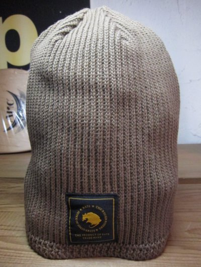 画像1: (SALE 20%OFF)RATS/BEANIE KNIT CAP  BROWN