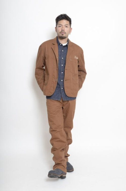 他の写真1: (SALE 30%OFF) RATS/PAINTER PANTS  BROWN