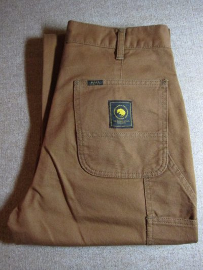 画像1: (SALE 30%OFF) RATS/PAINTER PANTS  BROWN