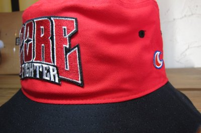 画像4: COREFIGHTER/CLIP #11 TEAM HAT  REDxBLACK