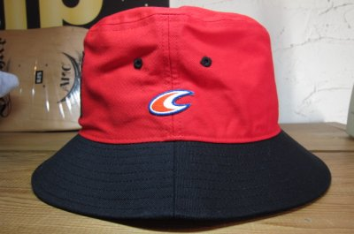 画像2: COREFIGHTER/CLIP #11 TEAM HAT  REDxBLACK