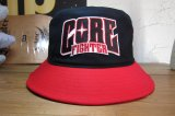 COREFIGHTER/CLIP #11 TEAM HAT  BLACKxRED