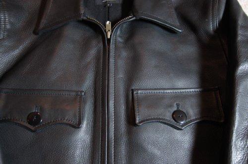 他の写真2: (SALE 40%OFF) RATS/40's LEATHER COAT  BLACK