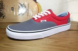 (SALE 25%OFF) VANS/ERA PEWTER(GRAY)xRED