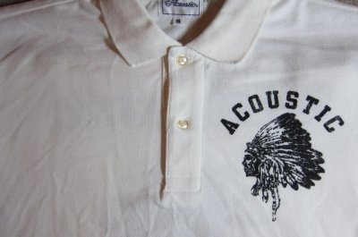 画像3: (SALE 35%OFF) ACOUSTIC/CHIEF S/S POLO WHITE