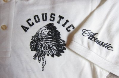 画像4: (SALE 35%OFF) ACOUSTIC/CHIEF S/S POLO WHITE