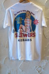 (SALE40%OFF)SKEWERS/TEE  WHITE