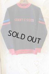 SUNNY C SIDER/LINE SWEAT  BLACK