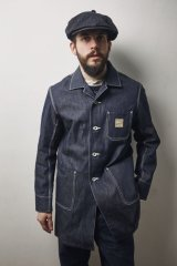 (SALE 30%OFF) BELAFONTE/RAGTIME DENIM SHOP COAT  DENIM