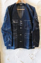 (SALE 30%OFF) BELAFONTE/RAGTIME DENIM SHOOTING JKT  ONEWASH DENIM