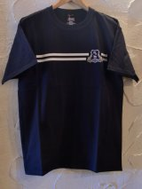 (SALE 35%OFF)WOODEN HORSE/S/S OG HANES BLACK