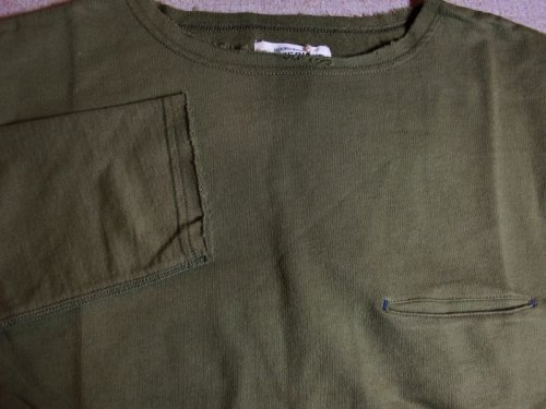 他の写真2: OUT OF SIGHT/CUT OFF POCKET L/S  OLIVE