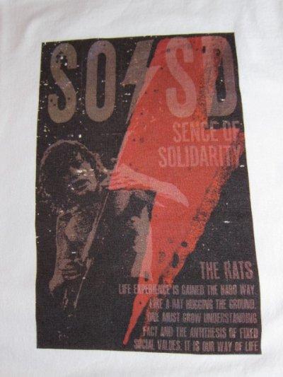 画像3: (SALE 35%OFF) RATS/SOSD PRINT T  WHITE