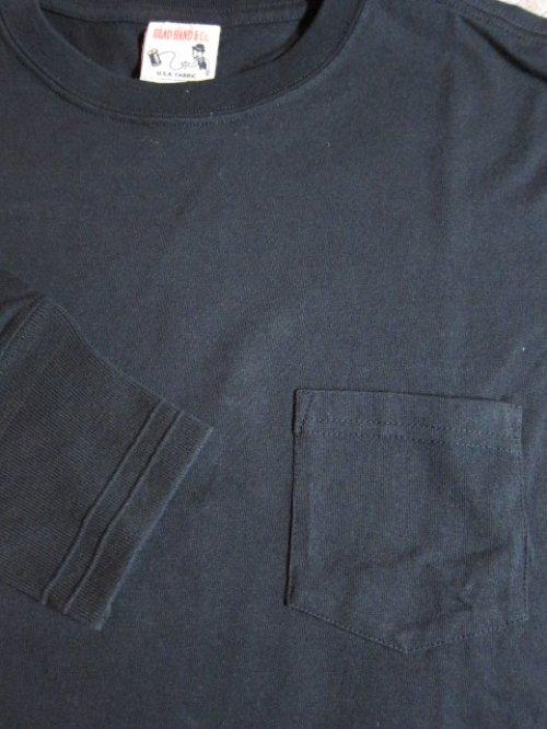 他の写真2: GLAD HAND(グラッドハンド)/HALF SLEEVE POCKET T  BLACK