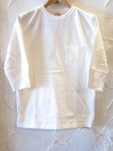 GLAD HAND(グラッドハンド)/HALF SLEEVE POCKET T  WHITE