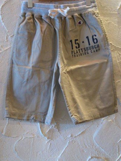 画像1: (SALE 30%OFF) CHAMPION/COTTON TWILL SHORT PANT  BEIGE