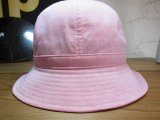 (SALE 20%OFF) FTC/CHAMBRAY BELL HAT  PINK
