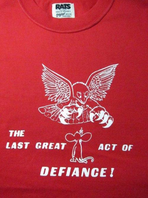 他の写真2: (SALE 30%OFF) RATS/LAST DEFLANCE T  RED
