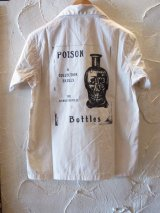 GANGSTERVILLE(ギャングスタービル)/POISON S/S SHIRTS  WHITE
