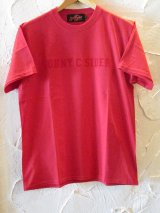 (SALE 35%OFF) SUNNY C SIDER/COLLEGE T  RED