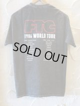 FTC/ACID WASHED TOUR T  BLACK