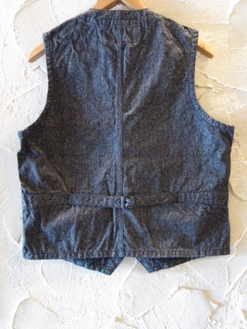 他の写真1: SUGAR CANE/9oz COTTON COVERT WORK VEST  BLACK