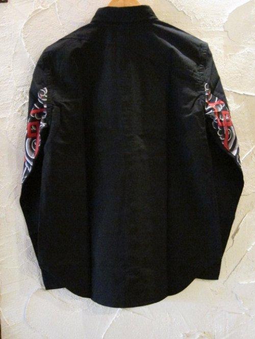 他の写真1: SOFTMACHINE/CYCLONE SHIRTS  BLACK
