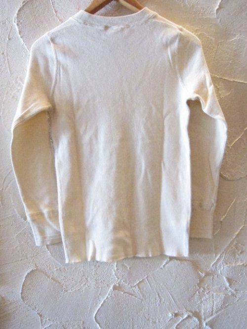 他の写真1: GLAD HAND(グラッドハンド)/GH THICK HENLY L/S T  WHITE