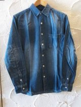 VINTAGE EL/6.5oz DENIM SHIRTS  INDIGO.WASH