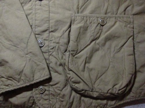 他の写真3: (SALE 35%OFF) FAT/QUILT CUMBER  CAMEL