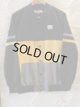 INTERFACE/COTTON SUEDE JKT  BLACKxYELLOW