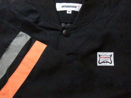 他の写真2: (SALE 35%OFF) INTERFACE/COTTON SUEDE JKT  BLACKxORANGE