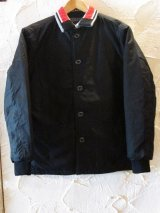(SALE 25%OFF)RATS/50's RIB JKT  BLACK