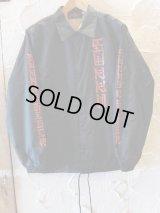 SUNNY C SIDER/SANSKRIT COACH JKT  BLACK
