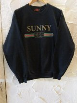 (SALE35%OFF) SUNNY C SIDER/G SUNNY SWEAT  BLACK