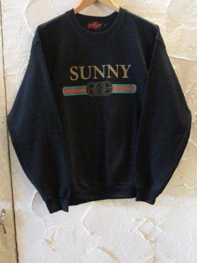 画像1: (SALE35%OFF) SUNNY C SIDER/G SUNNY SWEAT  BLACK