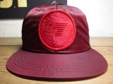 (SALE35%OFF) SUNNY C SIDER/NYLON CAP  RED