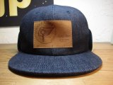 (SALE 35%OFF) SUNNY C SIDER/FLIP DOWN CAP  DENIM