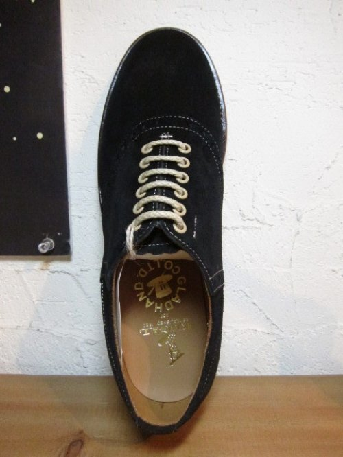 他の写真2: GLAD HAND/xREGAL SADDLE SUEDE SHOES  BLACK