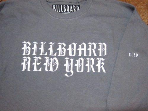 他の写真2: (SALE 35%OFF)BILL BOARD/LONG  SLEEVES T NEW YORK  CHARCOAL