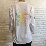 (SALE 30%OFF)BILL BOARD/LONG  SLEEVES T EAGLE  WHITE