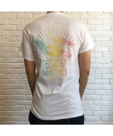 (SALE 35%OFF)BILL BOARD/PRINT T SHIRTS EAGLE  WHITE