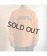 BILL BOARD/COACH JACKET SANFRANCISCO  ORANGE