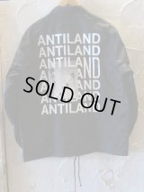 BONES AND BOLTS/COACH JACKET ANTILAND  BLACK